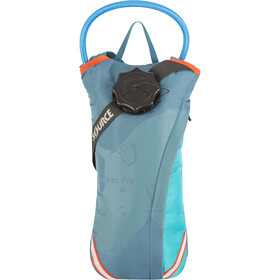 SOURCE Durabag Pro Hydration Pack 2L bottle, coral blue